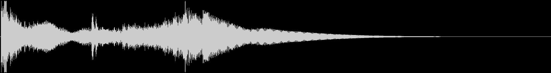 和太鼓登場ジングル2の未再生の波形