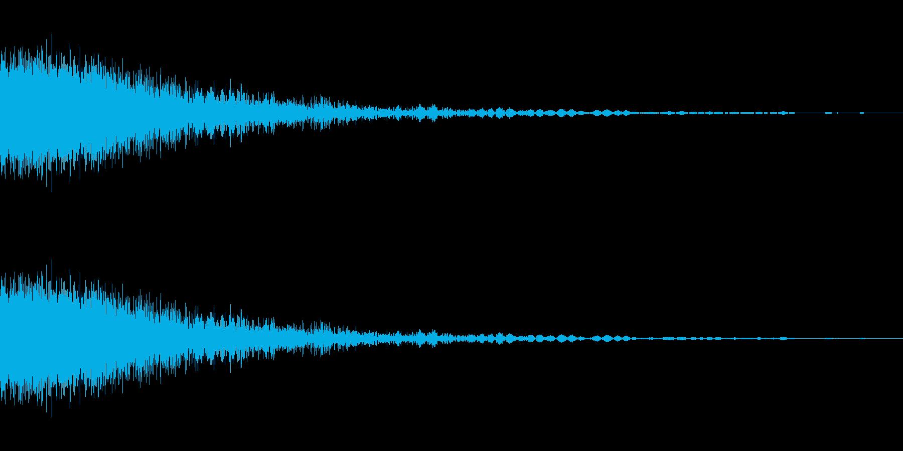 ビーム発射音,01の再生済みの波形