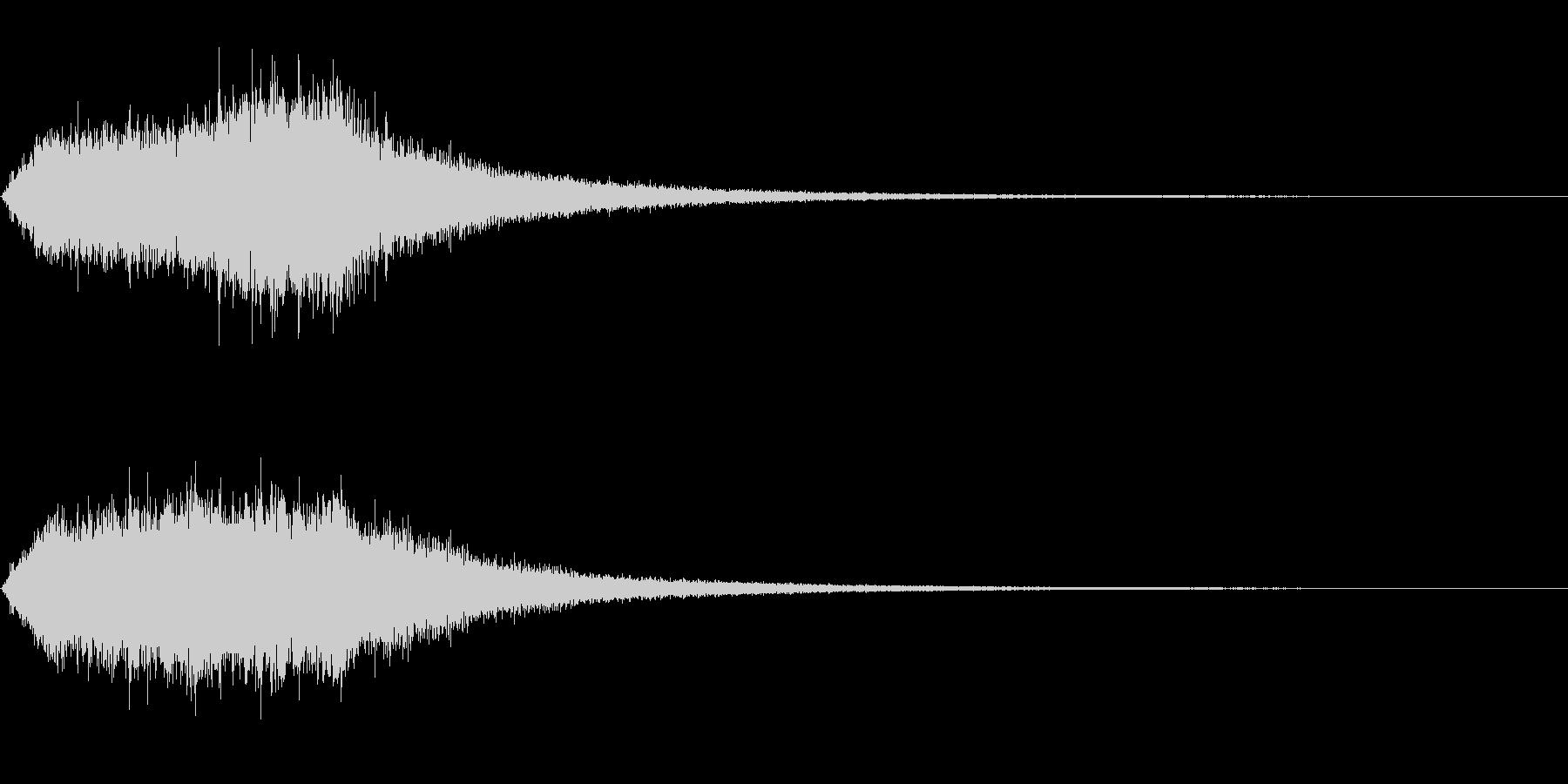 ダークファンタジー的なキラキラ音。の未再生の波形