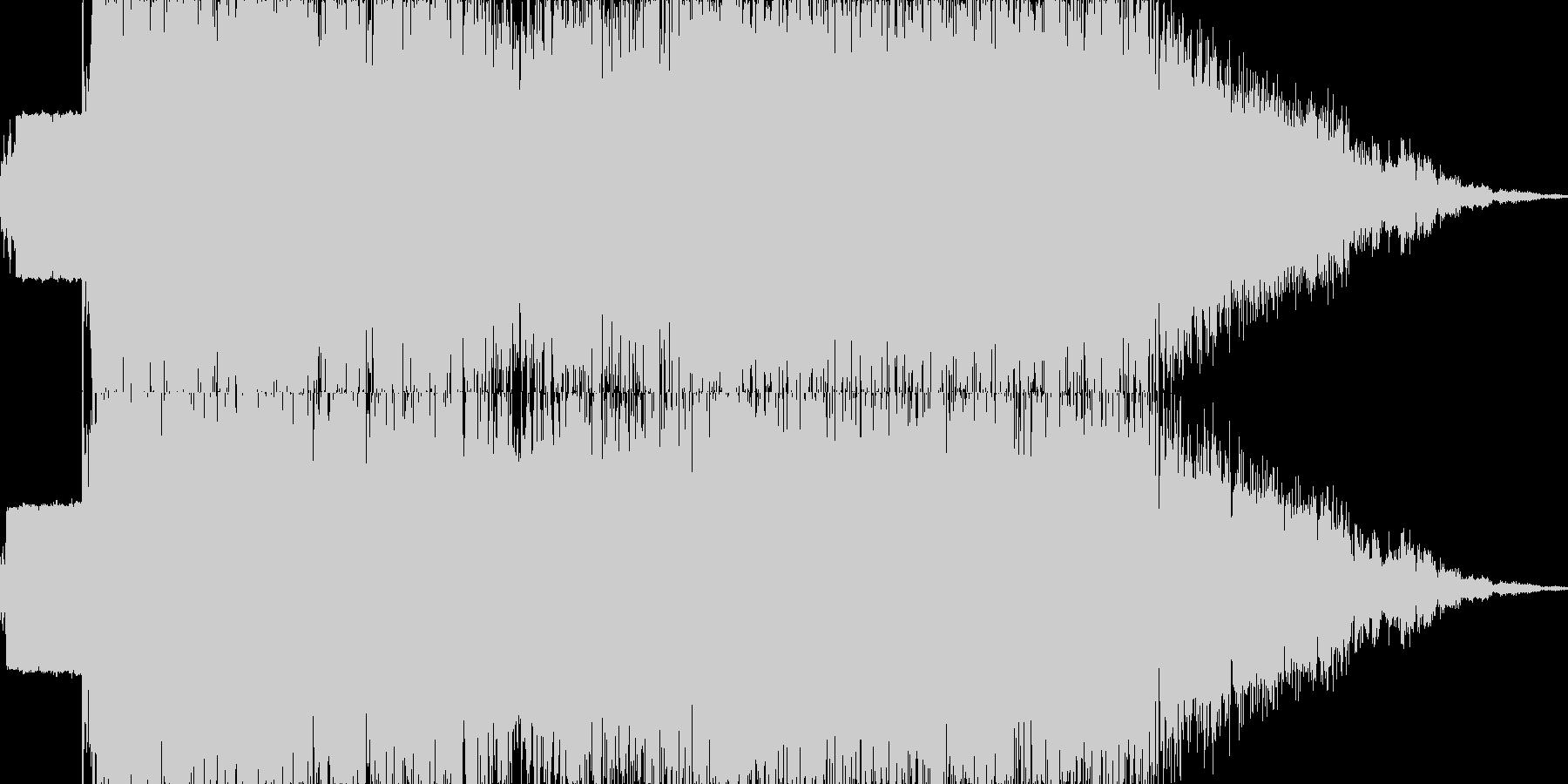 雷魔法(電撃のフィールドを展開)の未再生の波形