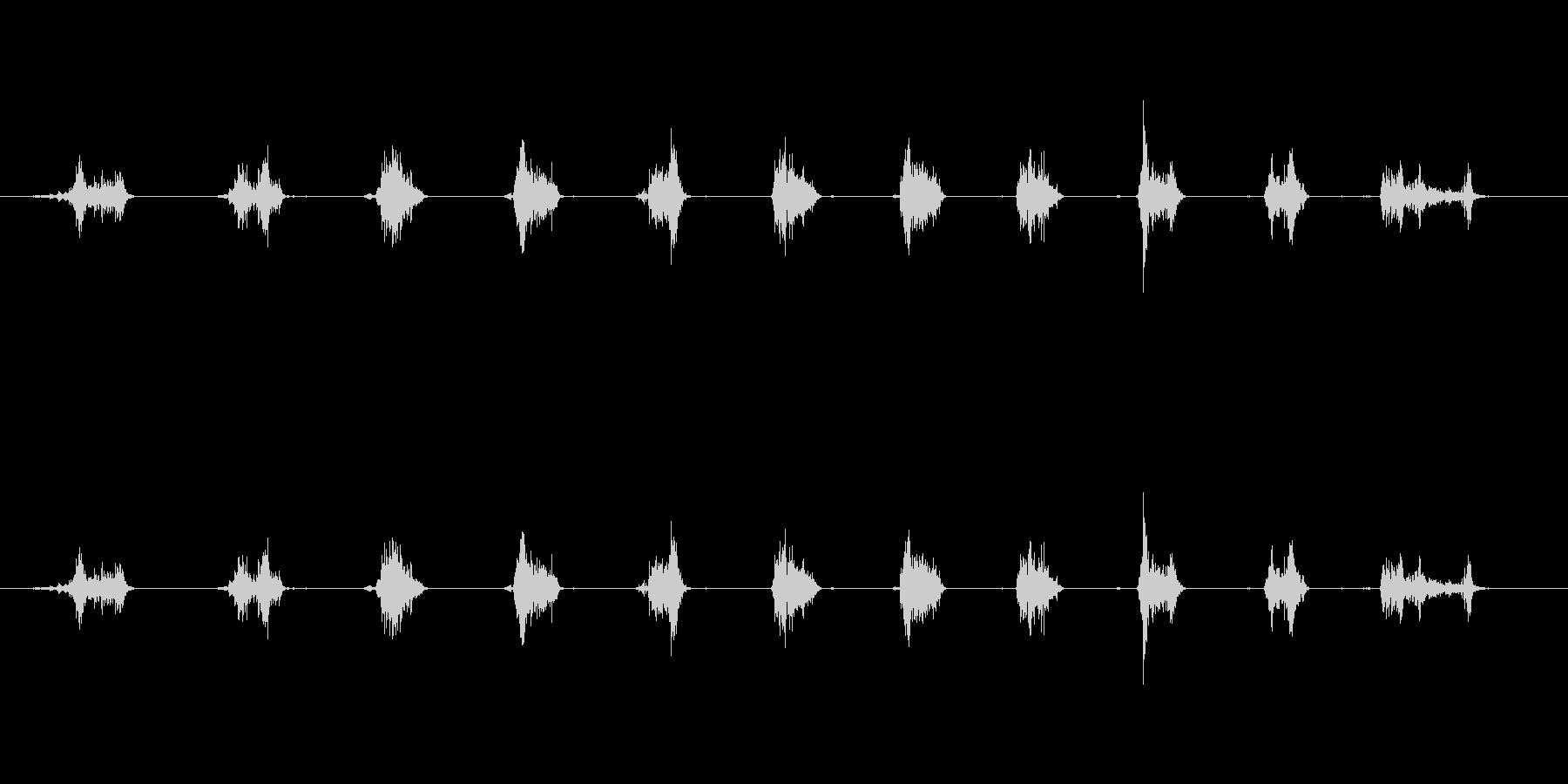 【鉛筆削り01-1(削る)】の未再生の波形