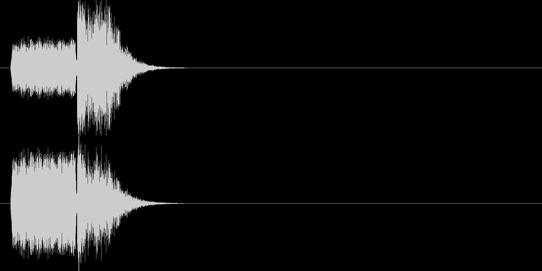 場面 スリップ+衝突の未再生の波形