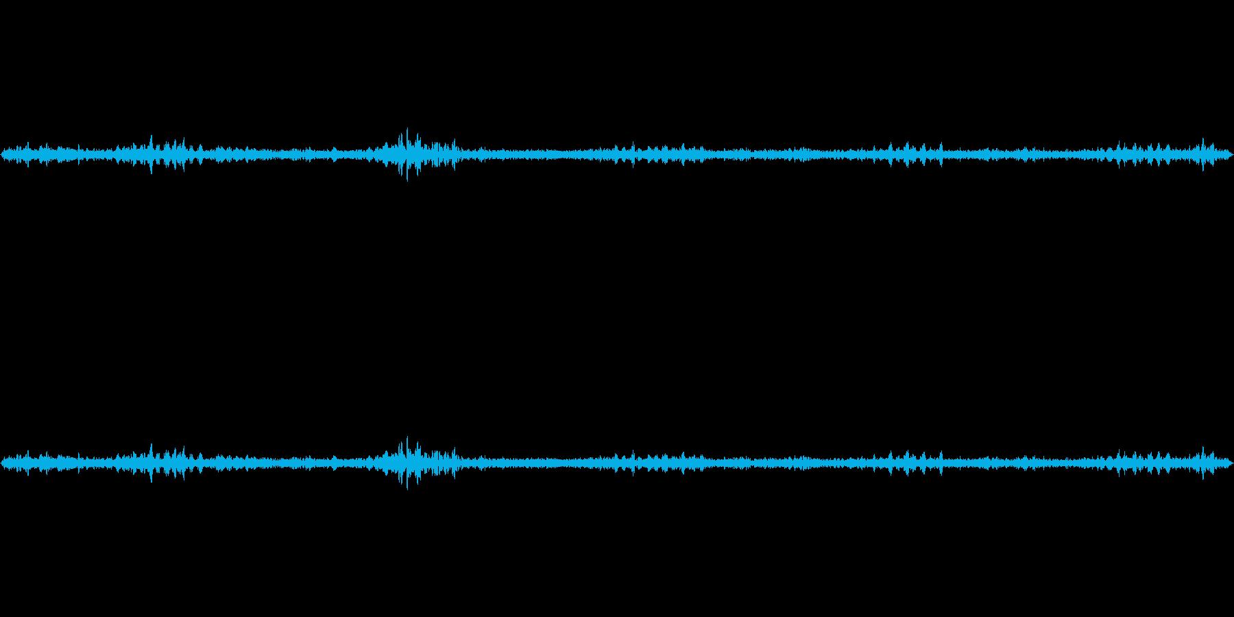 約30秒の鳥の声環境音です。の再生済みの波形