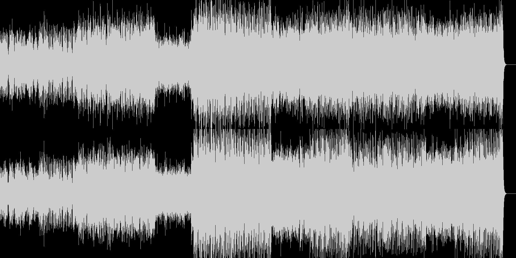 透き通ったイメージの曲です。の未再生の波形