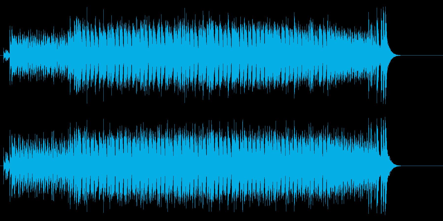 スカビートの効いたブラスサウンドの再生済みの波形