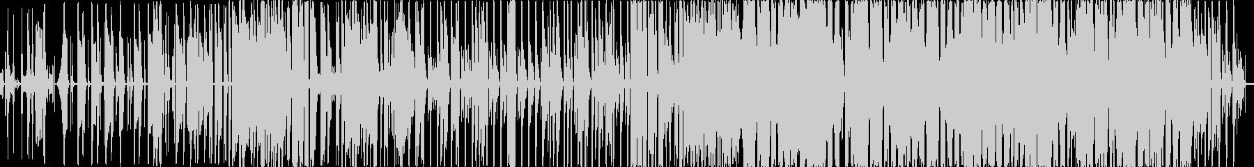 可愛いエレクトロポップの未再生の波形