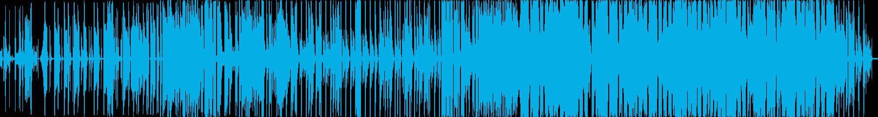 可愛いエレクトロポップの再生済みの波形
