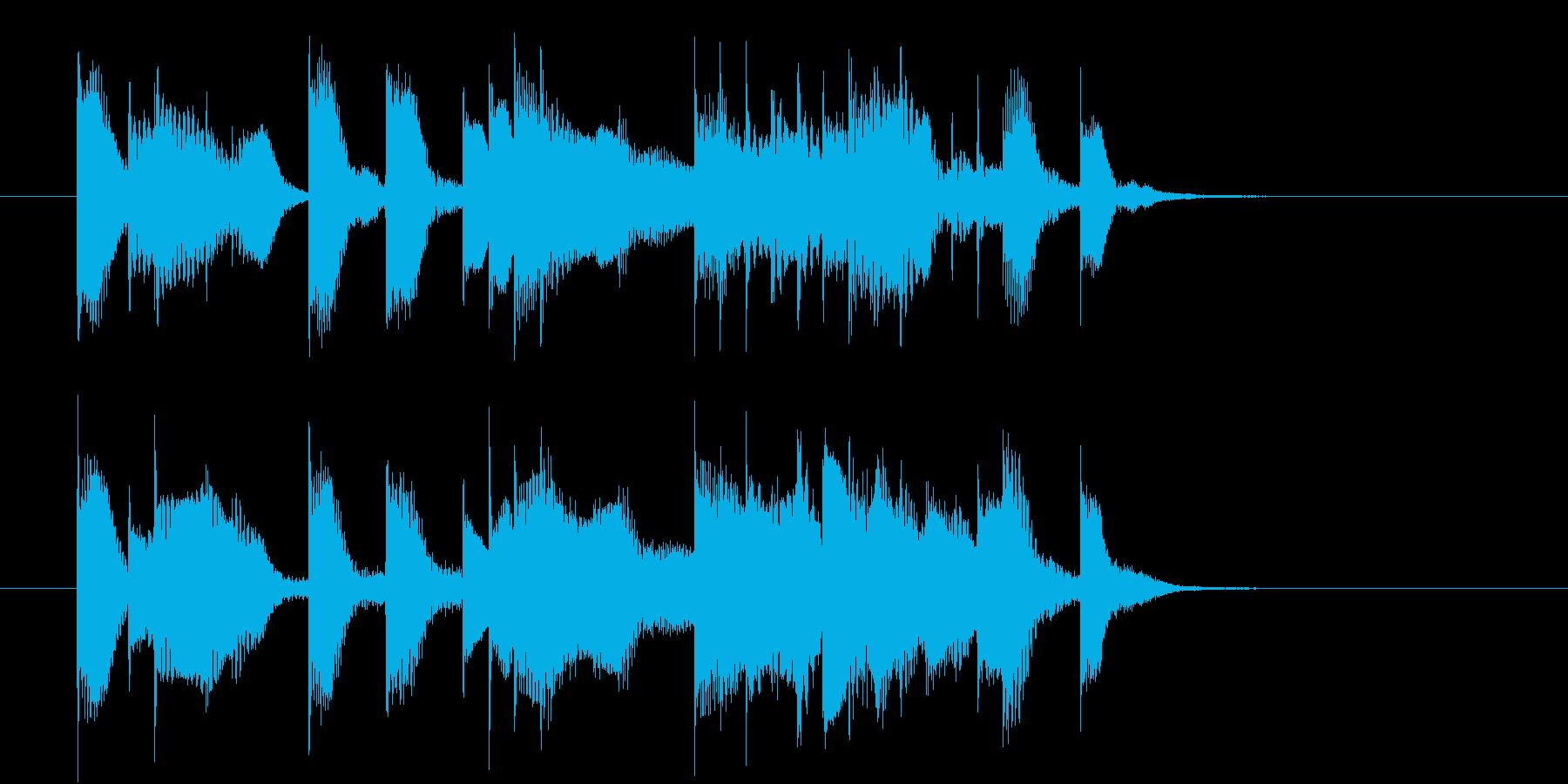 5~6秒のエレピのジングルです。の再生済みの波形