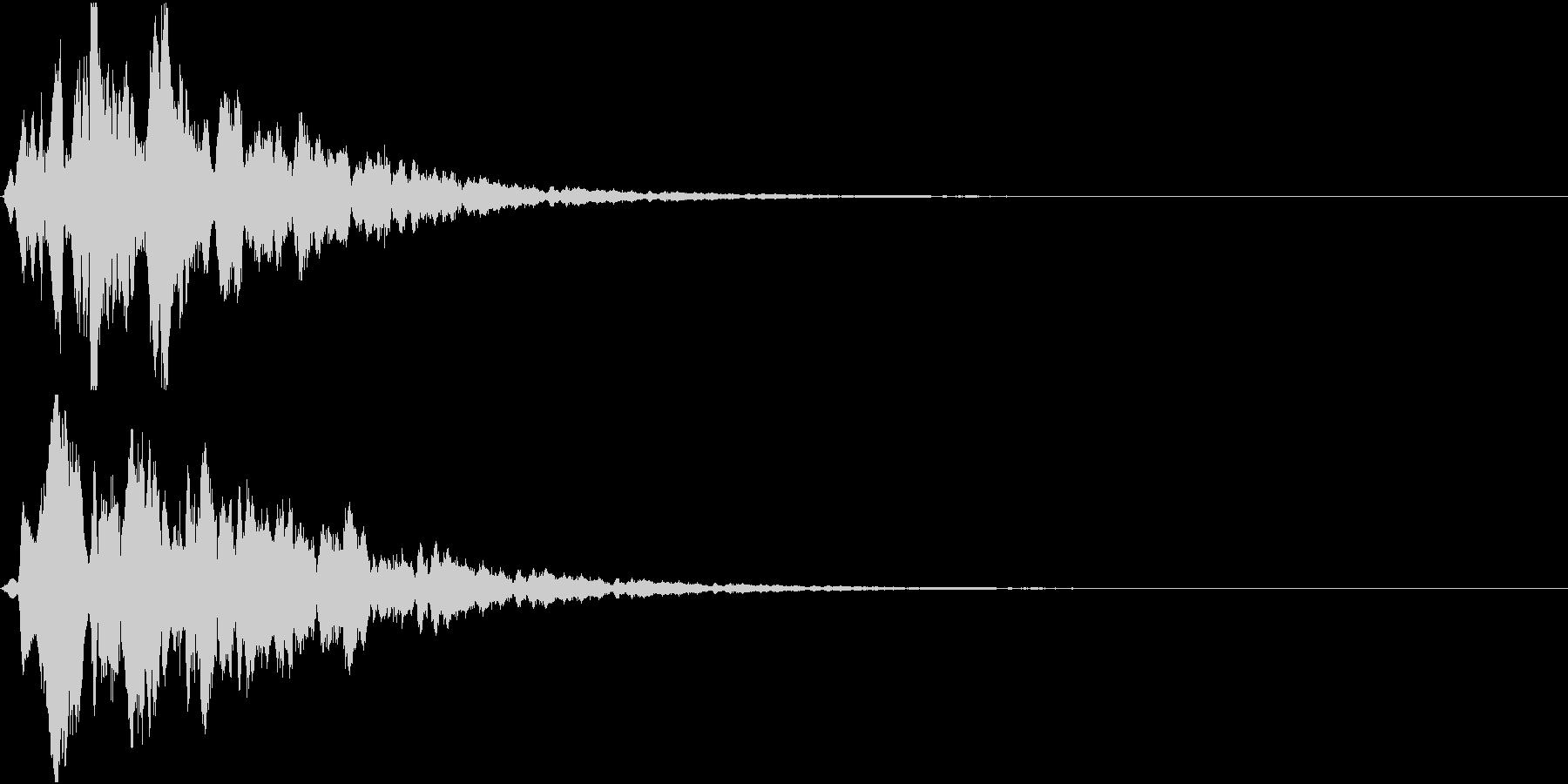 Hint 閃き 点と線が繋がる SEの未再生の波形