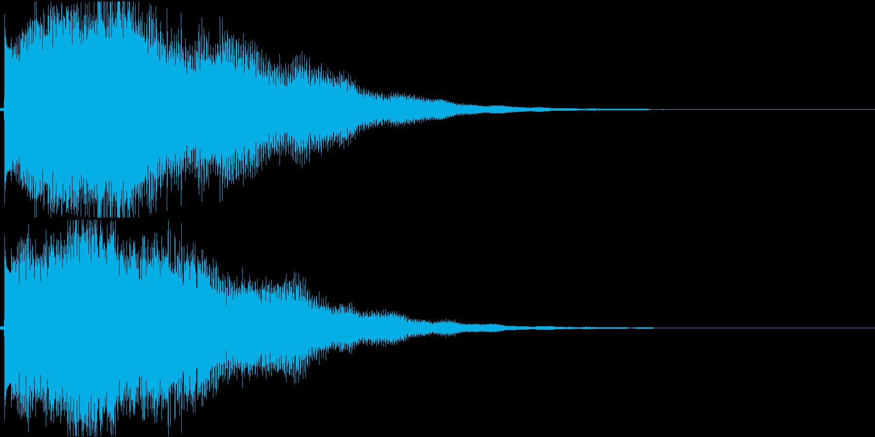アンビエントなエレピ#2・サウンドロゴ等の再生済みの波形