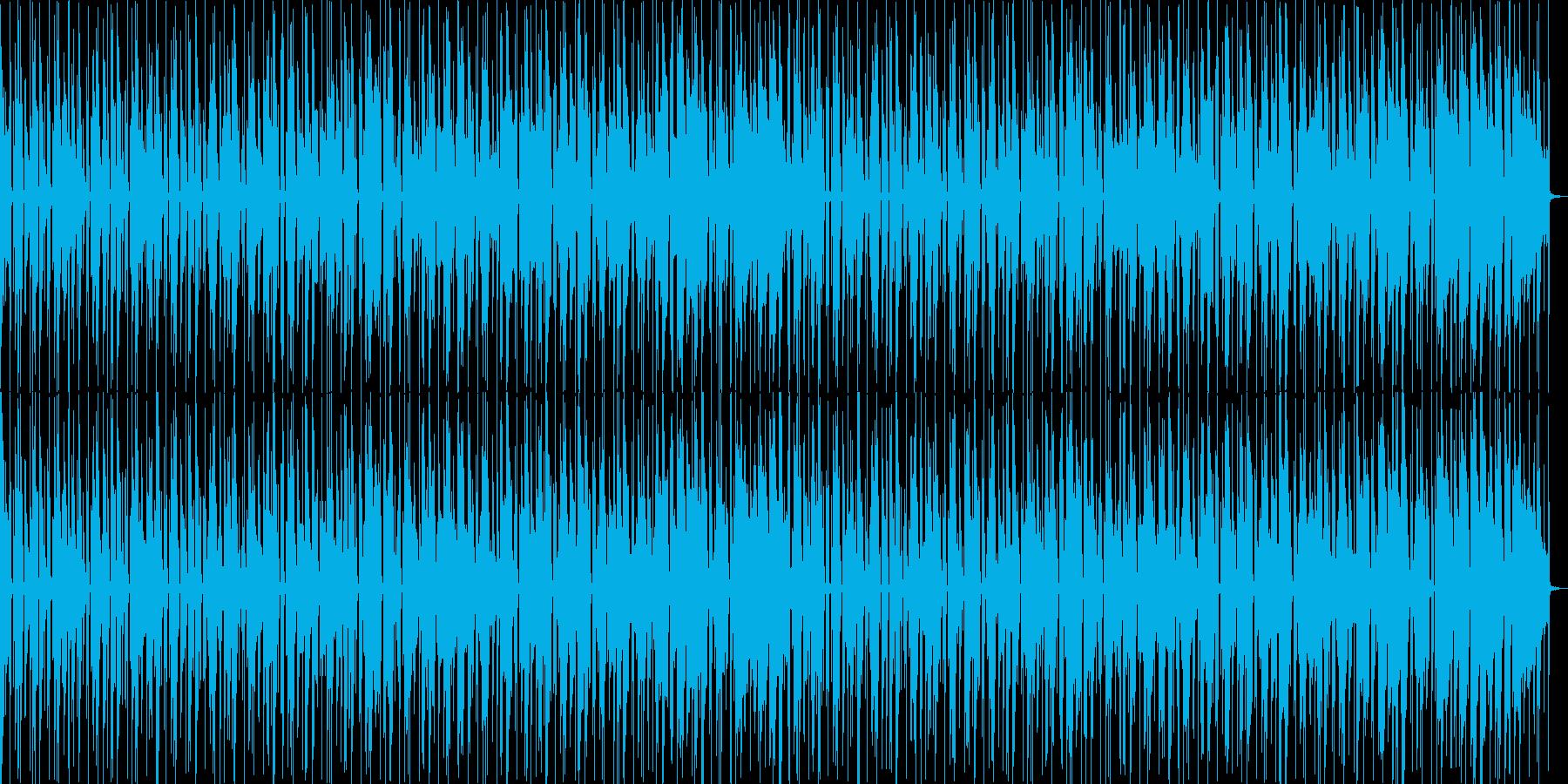 キッズ向けのミッドテンポBGMの再生済みの波形