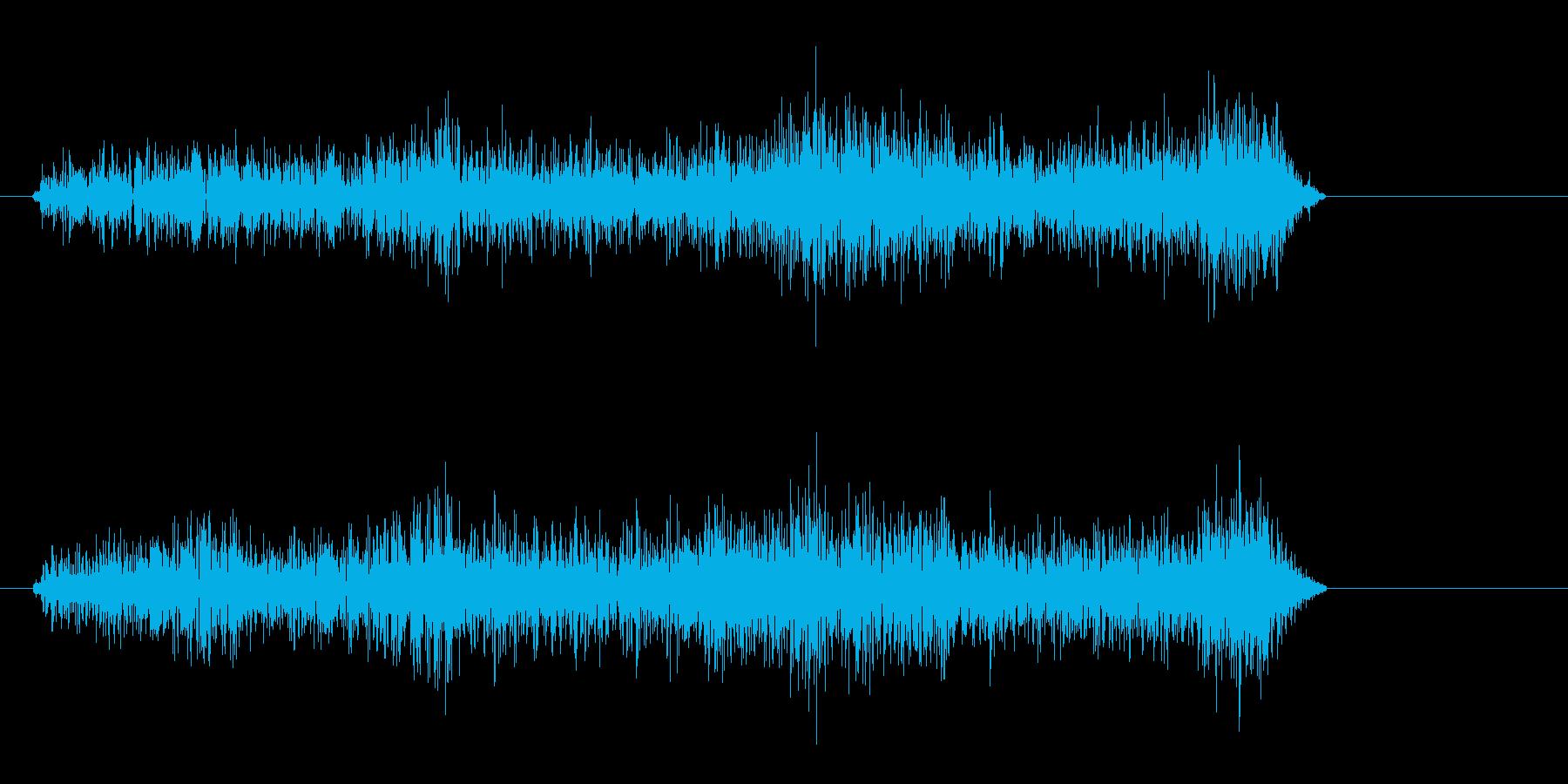 HPの回復(ゲーム)の再生済みの波形
