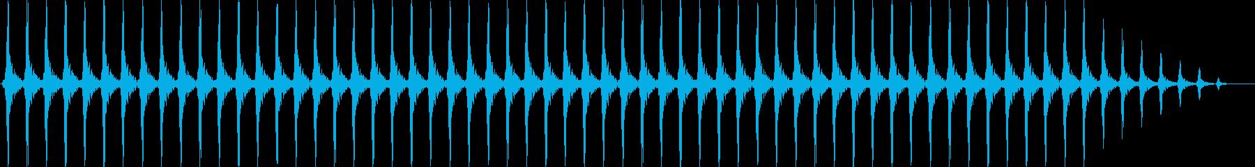 クリスマスの鈴(軽め、テンポ速い)の再生済みの波形