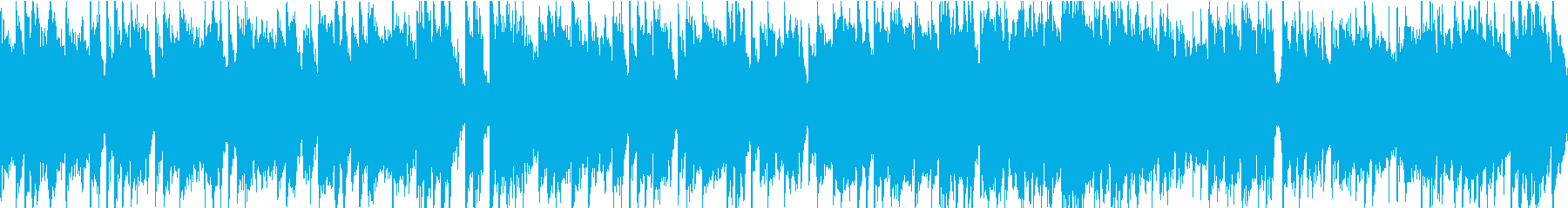 平和でほのぼの、アニメの日常風景BGMの再生済みの波形