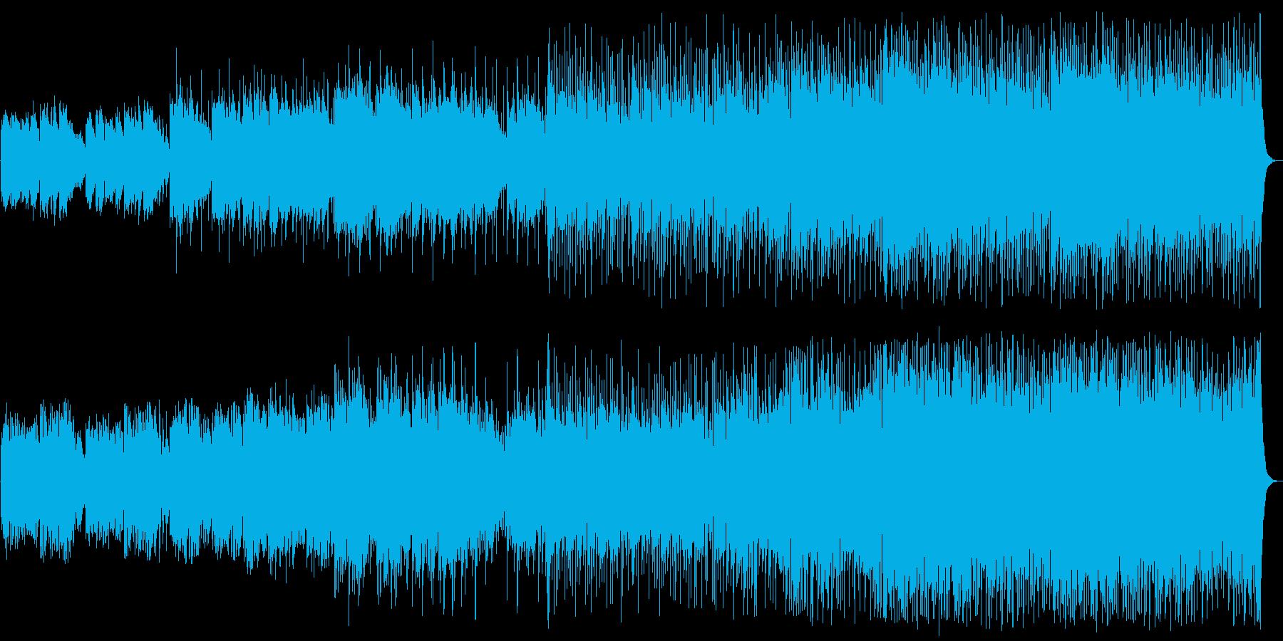 爽やかな旋律のほのぼのイージーリスニングの再生済みの波形