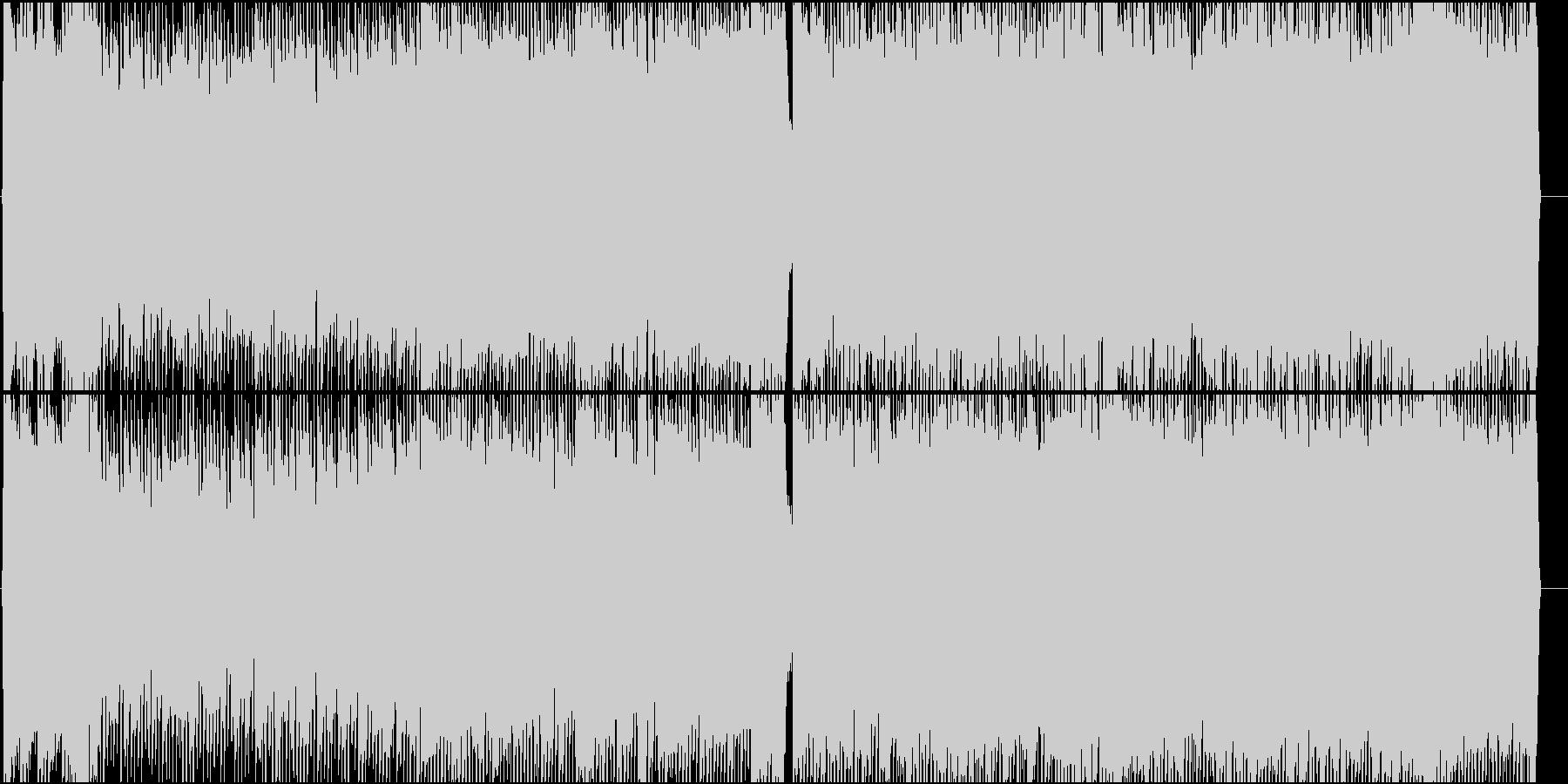 女性Vo★王様、姫、猫の3連符ロック曲♪の未再生の波形