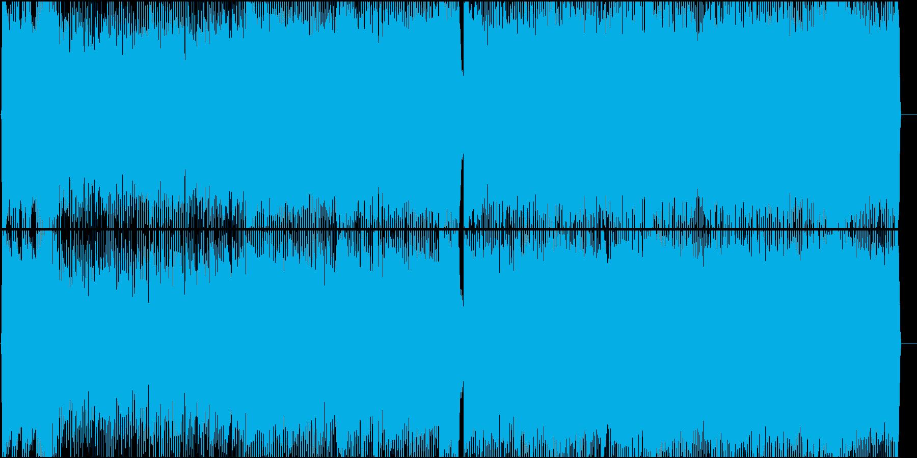 女性Vo★王様、姫、猫の3連符ロック曲♪の再生済みの波形