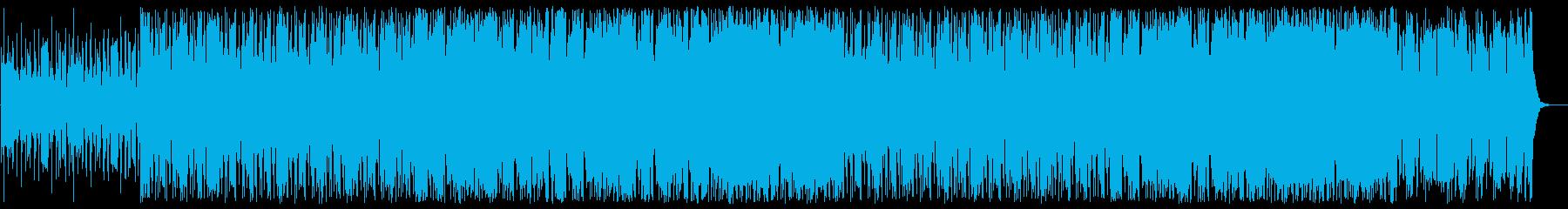 アダルトな1980年代風フュージョンの再生済みの波形