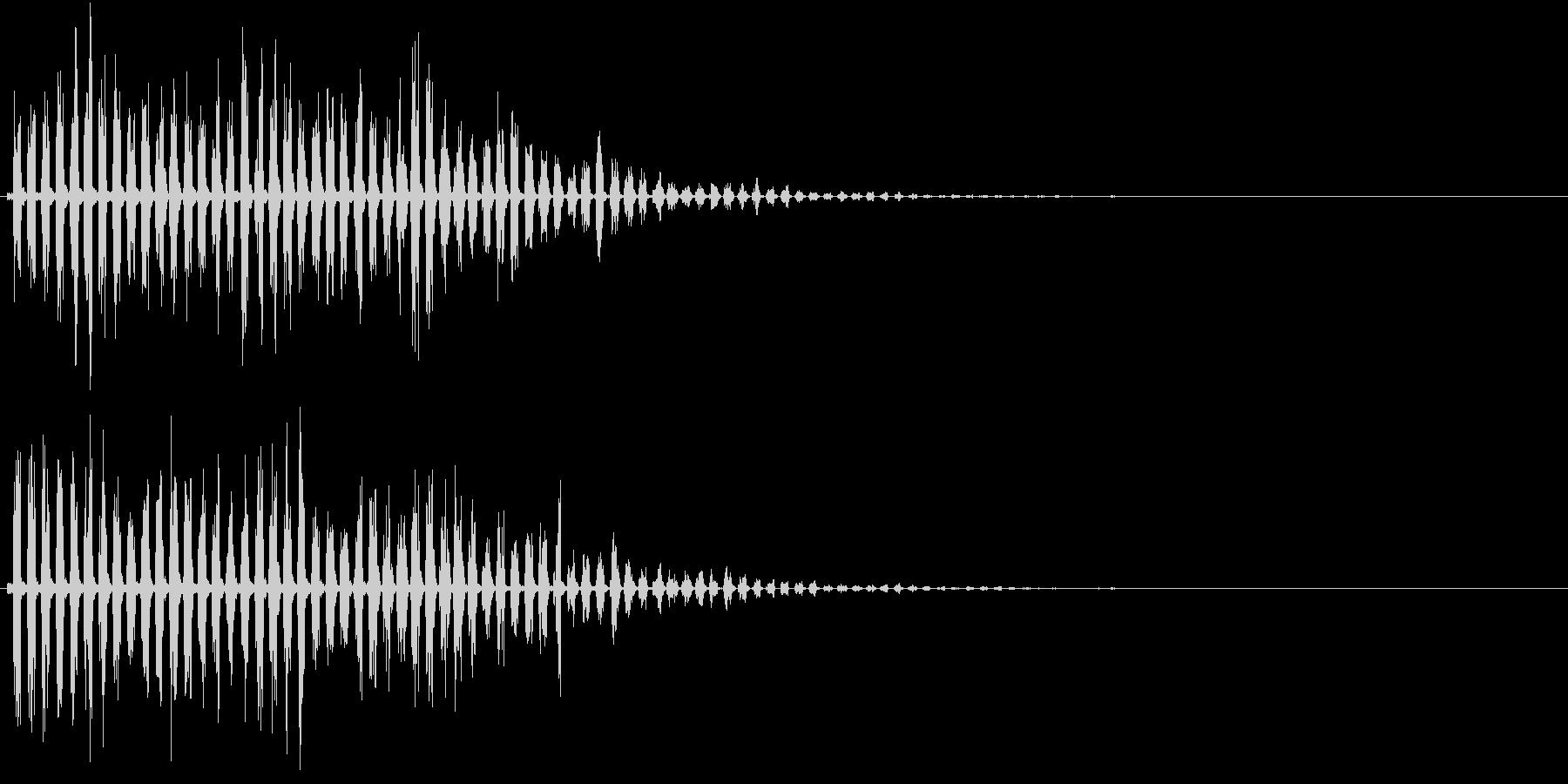 魔法音13の未再生の波形