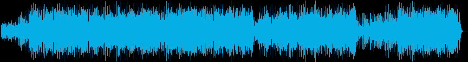 疾走感とドラマ感のドラムシンセサウンドの再生済みの波形