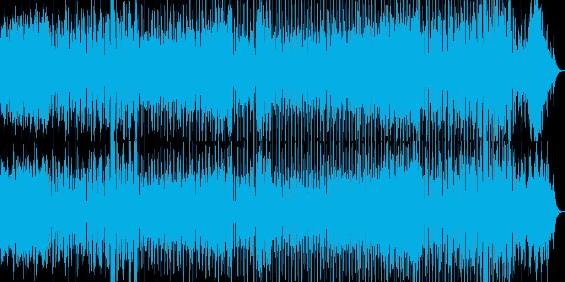 ほんわか、ちょっとジャジーなポップの再生済みの波形