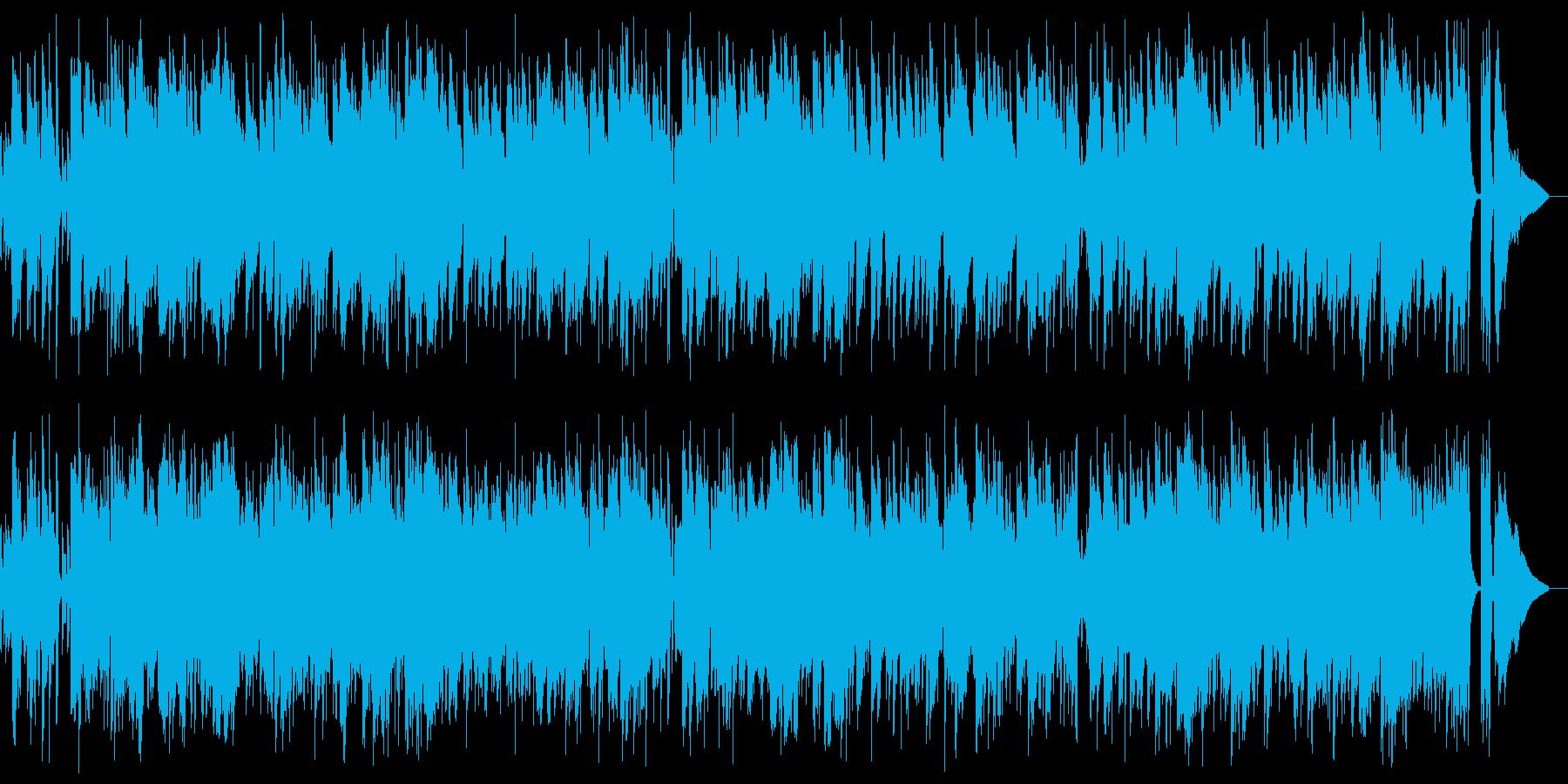 Hilo One(ハワイアン)の再生済みの波形