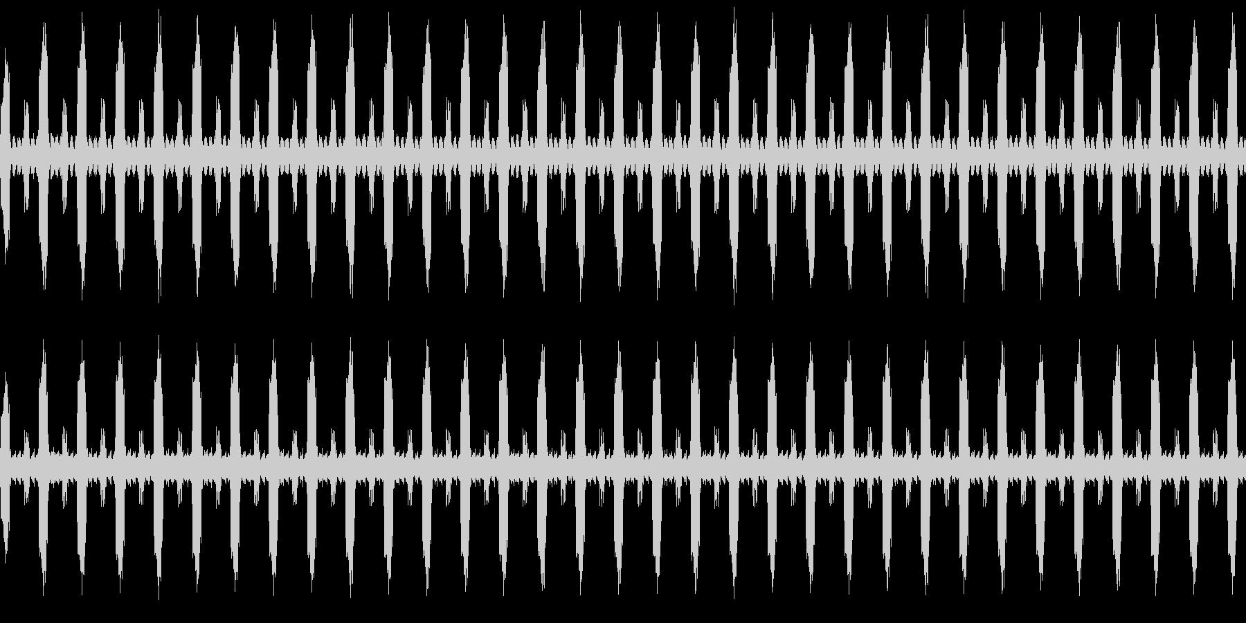 鳥と虫のループの未再生の波形
