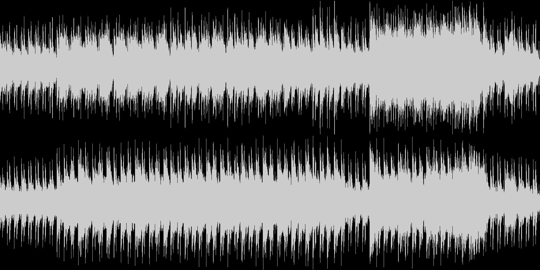 【ループ】不思議な森、幻想的な雰囲気の3の未再生の波形