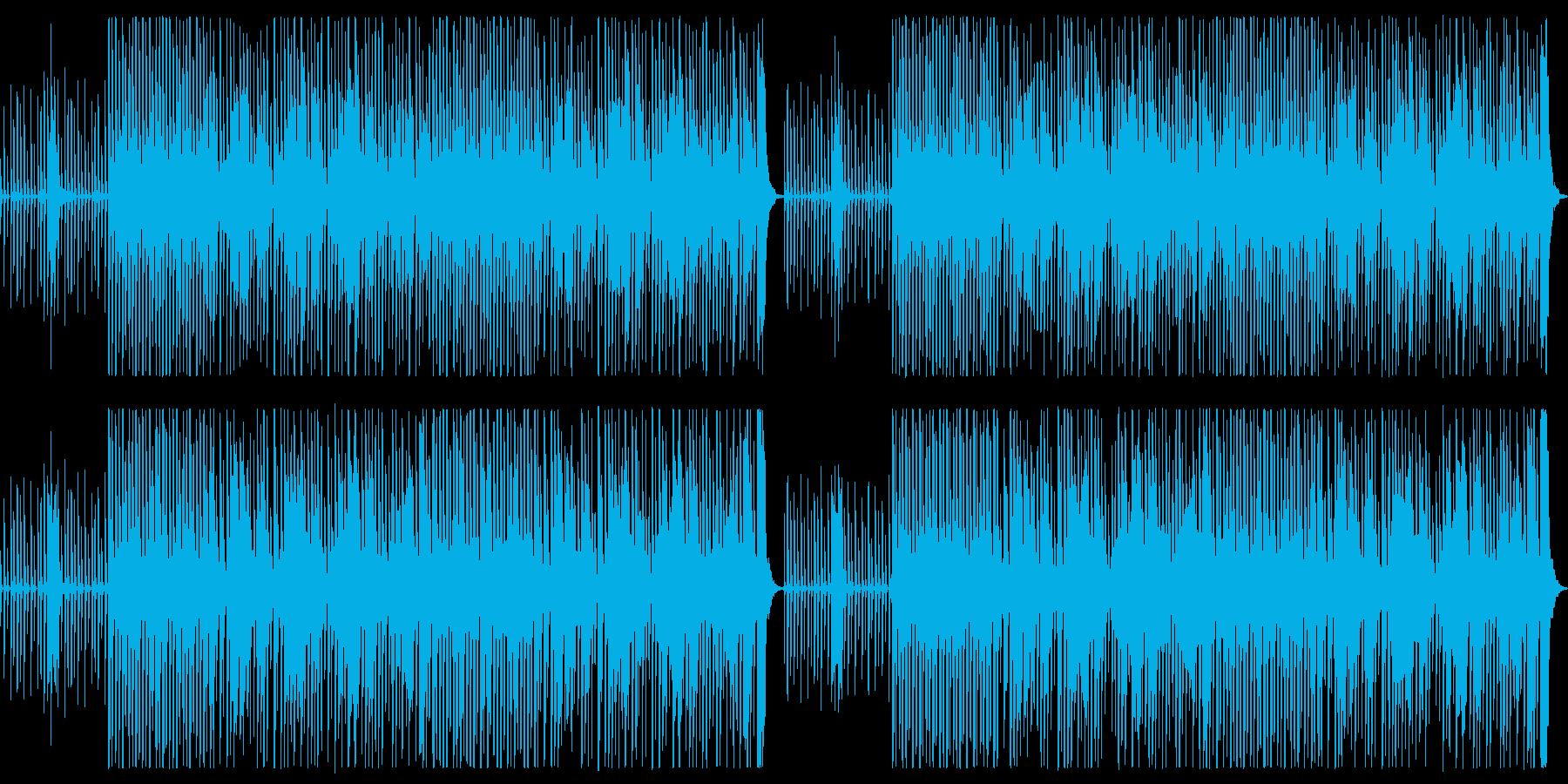 クラリネット中心、おどけた雰囲気の器楽曲の再生済みの波形