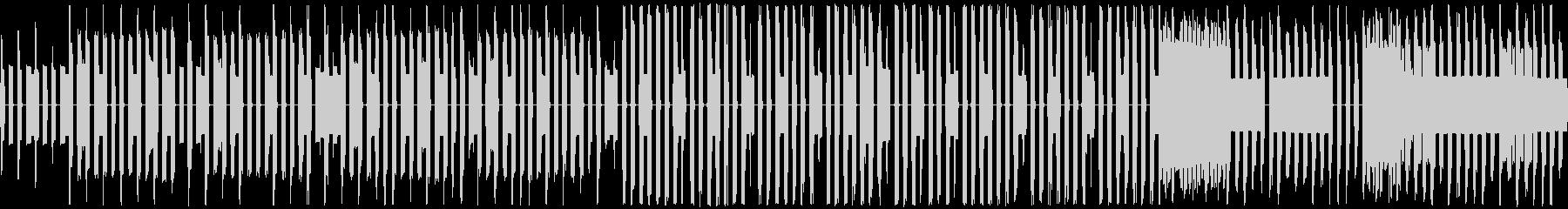 のんびりほのぼのチップチューンサウンドの未再生の波形