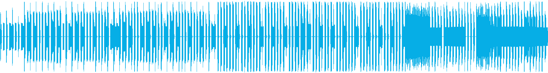 のんびりほのぼのチップチューンサウンドの再生済みの波形