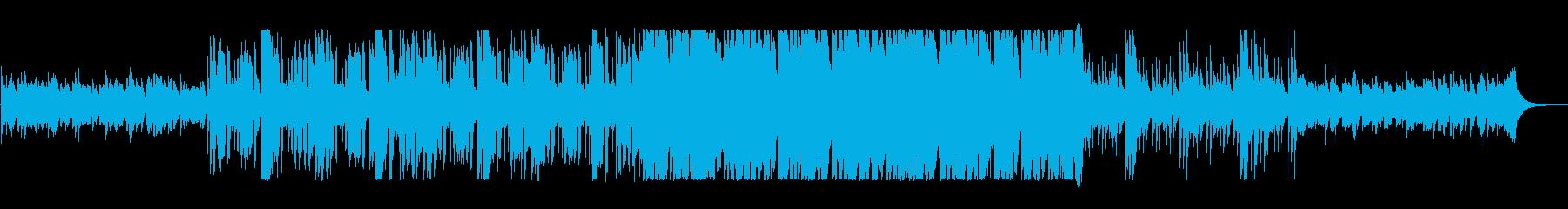 近代的なサウンドのニューミュージックの再生済みの波形