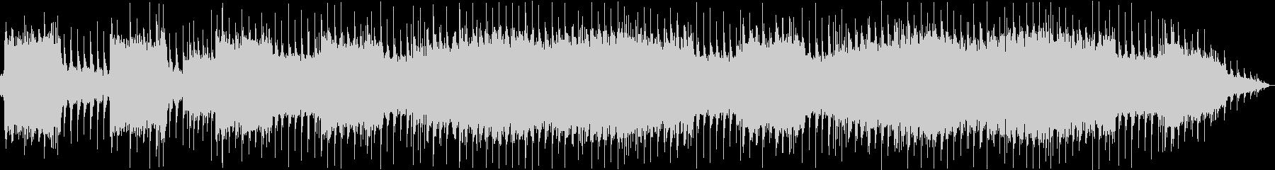 リフメインのテーマ曲のようなメタルBGMの未再生の波形
