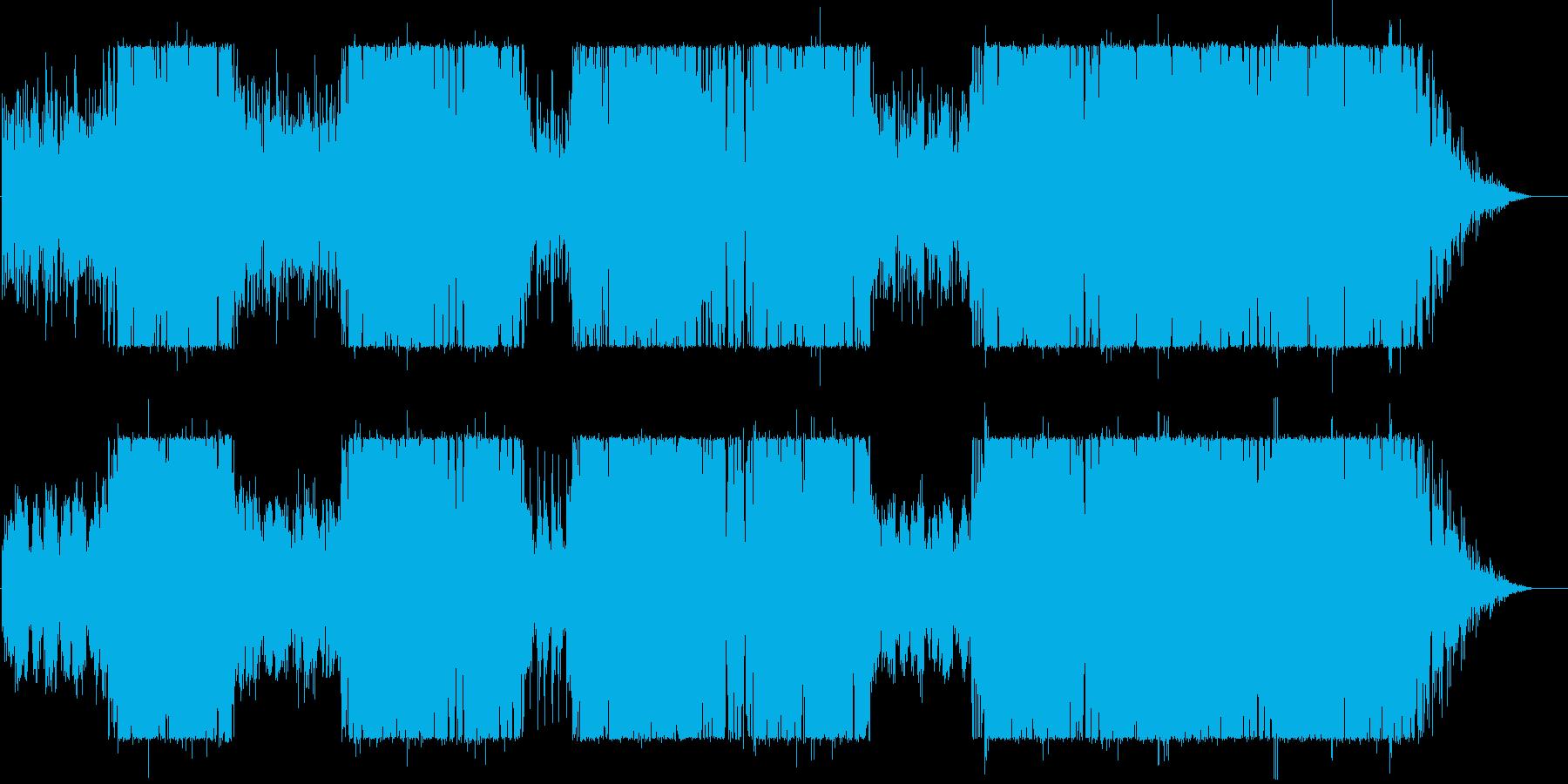 アコースティック+ロックサウンドで。の再生済みの波形