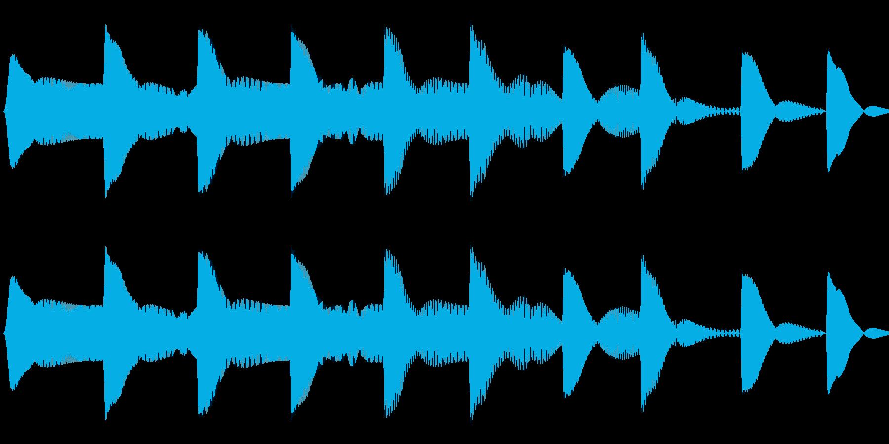 ピヨピヨ(ひよこ/混乱/ステータス異常)の再生済みの波形
