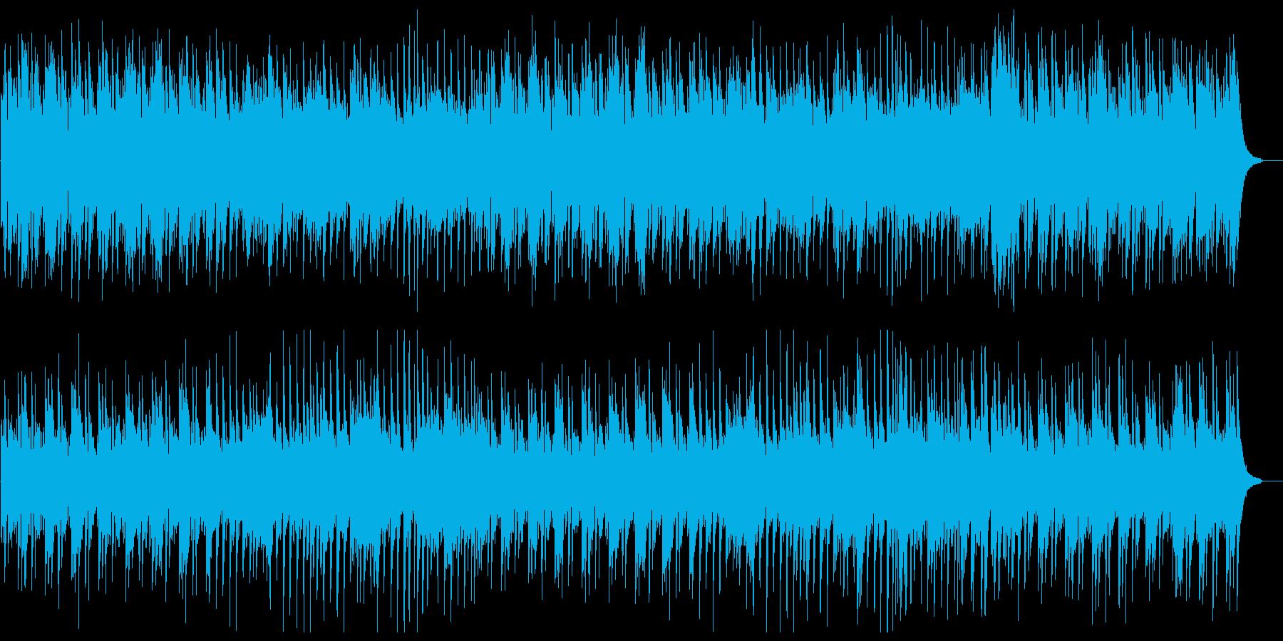 軽やかで爽やかなピアノサウンドの再生済みの波形
