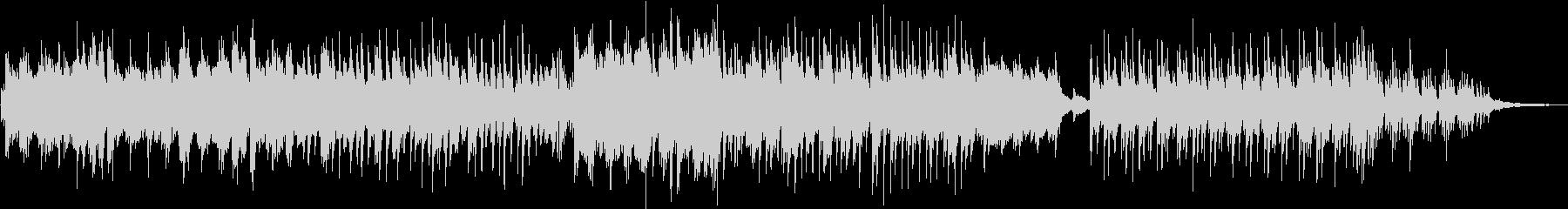 様々な映像に合う、たんたんとしたピアノ曲の未再生の波形