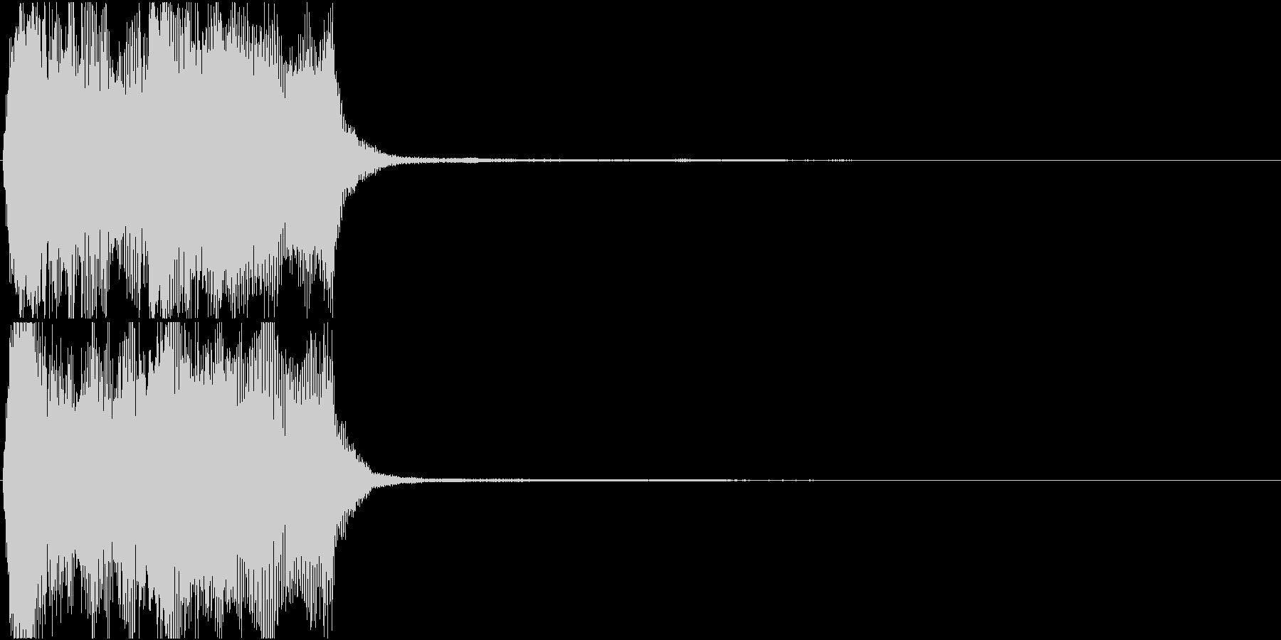 トランペット ファンファーレ 定番 7の未再生の波形