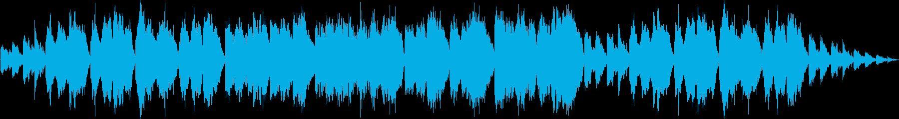 中国の草原をイメージさせる環境音楽の再生済みの波形