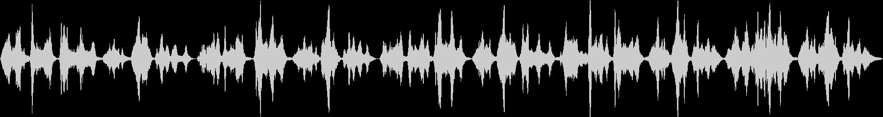 癒しの二胡が奏でる日本の童謡「子守歌」の未再生の波形