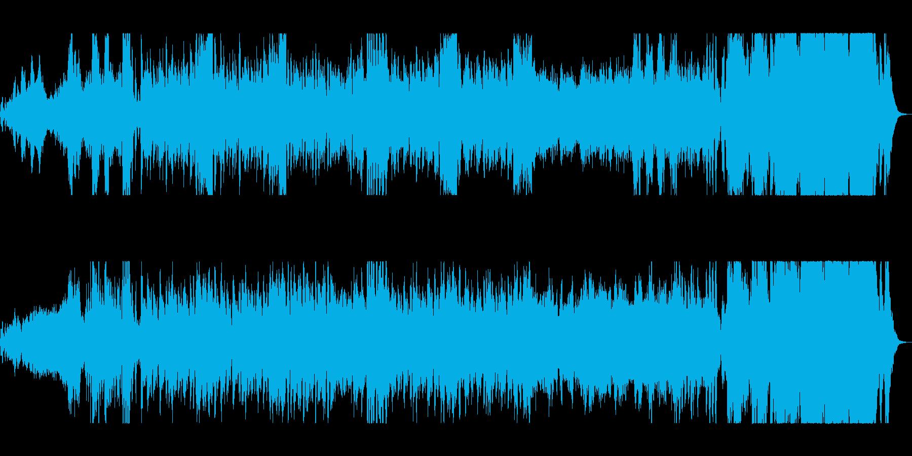 軽やかなファンタジックオーケストラの再生済みの波形