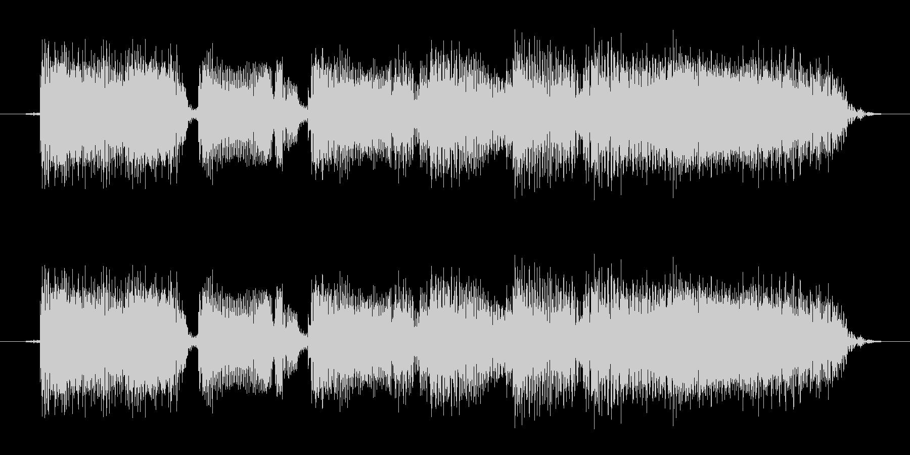 タイトルコールに使えるサウンド(ギター)の未再生の波形