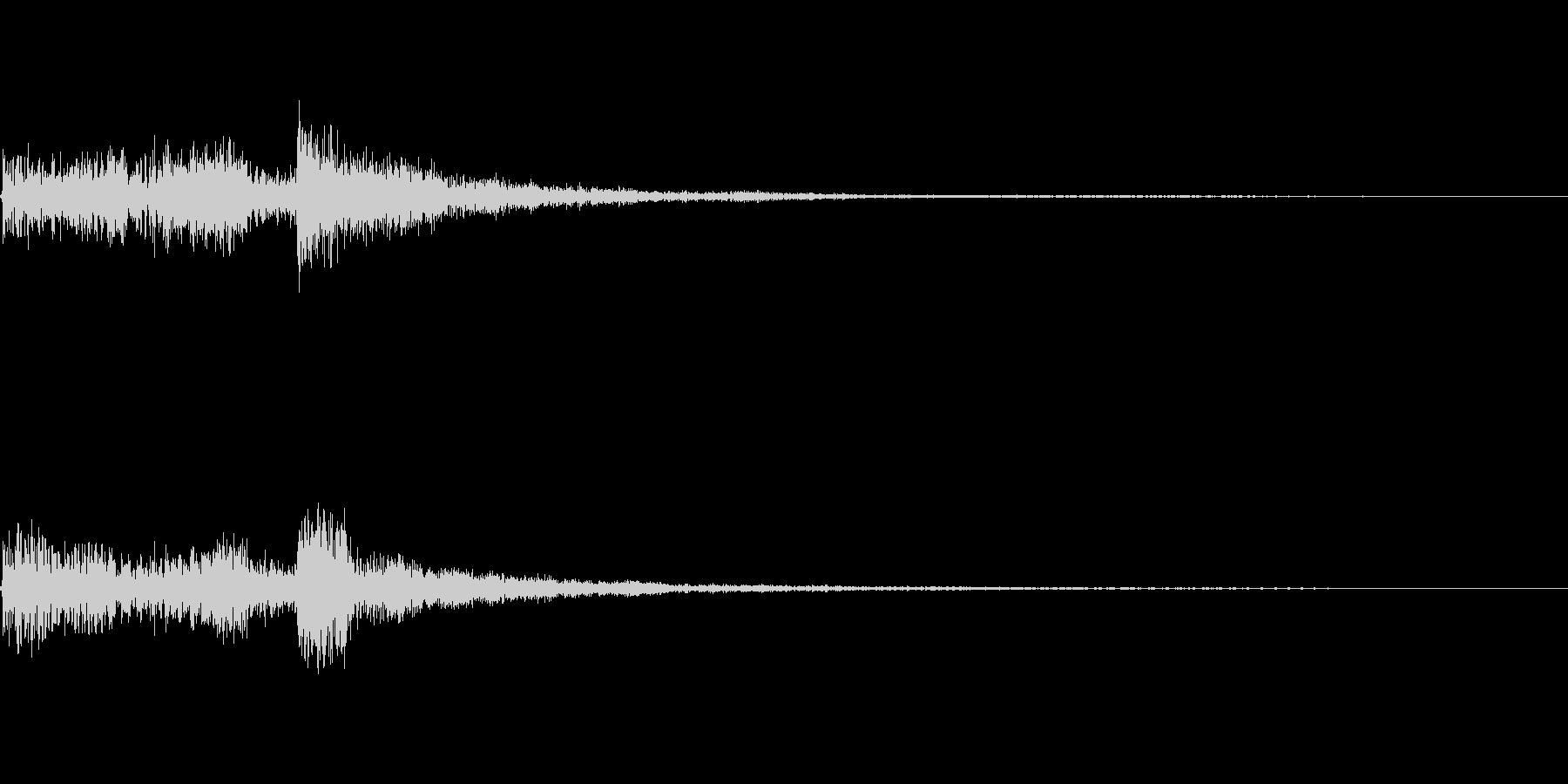 レアアイテム入手に使えるジングルの未再生の波形