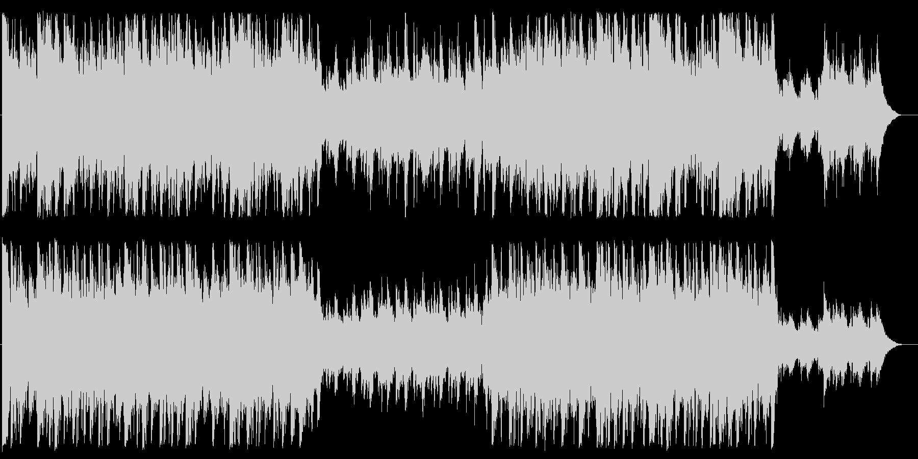 オーケストラ素材の未再生の波形