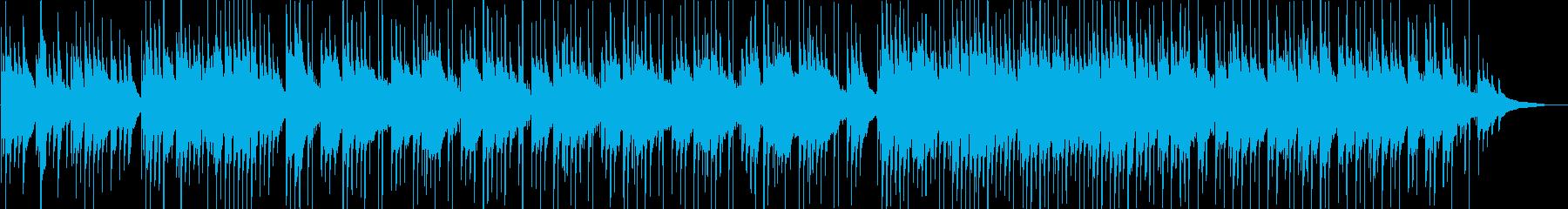 切なさ・ギター・映像・ナレーション用の再生済みの波形