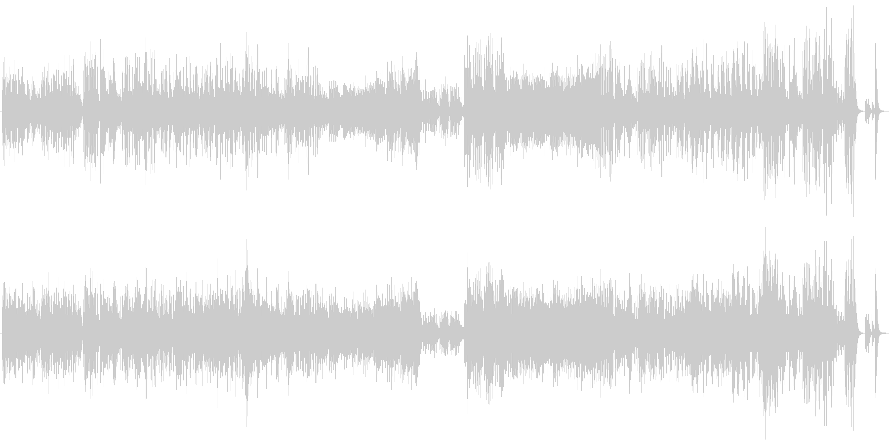 ワルツ 第4番 ピアノソロ版の未再生の波形