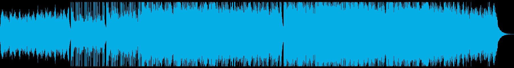 爽やかで切ない感動系チルシネマティック。の再生済みの波形