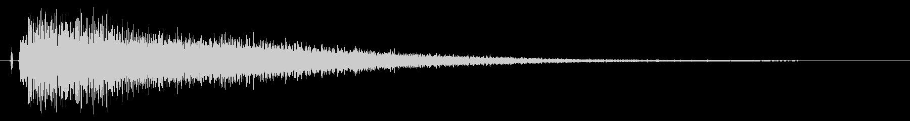 【チャイナシンバル7】中国風な演出に最適の未再生の波形