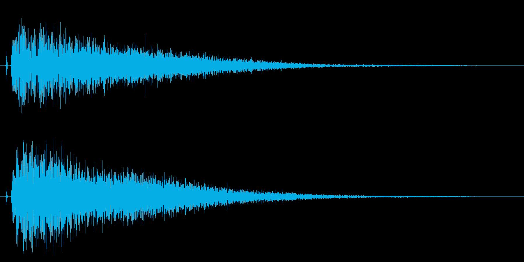 【チャイナシンバル7】中国風な演出に最適の再生済みの波形
