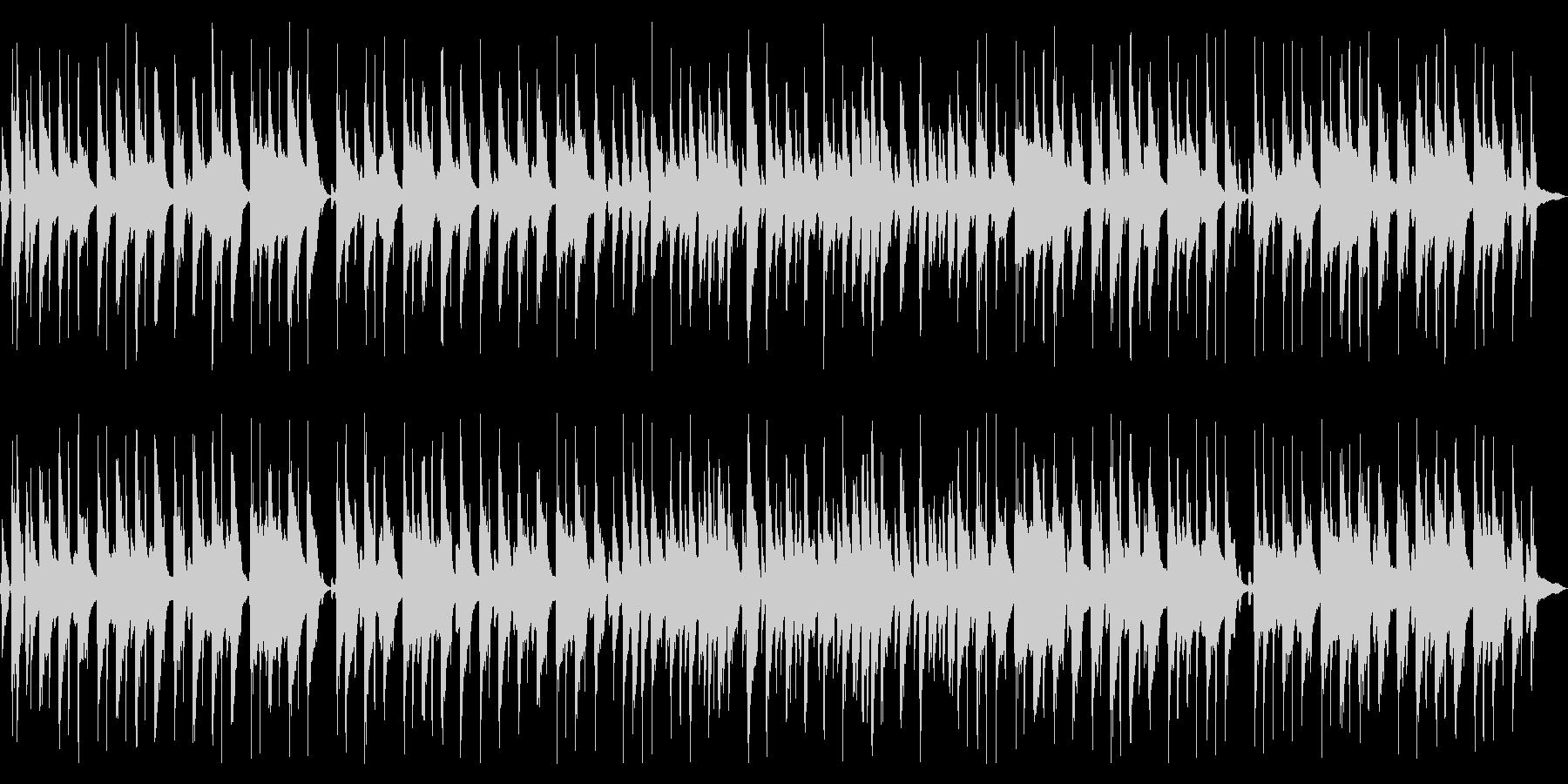 のんびりとしたコンセプトムービーBGMの未再生の波形